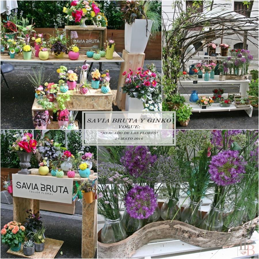 Mercado de las Flores de Vogue: Savia Bruta y Ginko