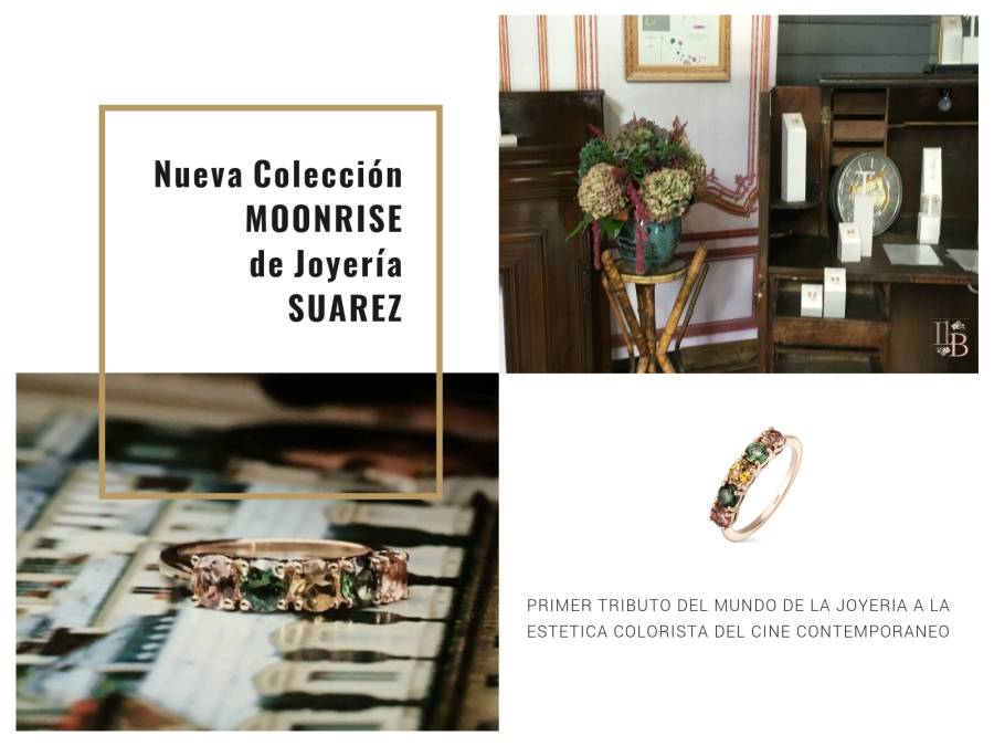 Nueva colección de Joyería Suarez Moonrise. Post en LLega mi Boda
