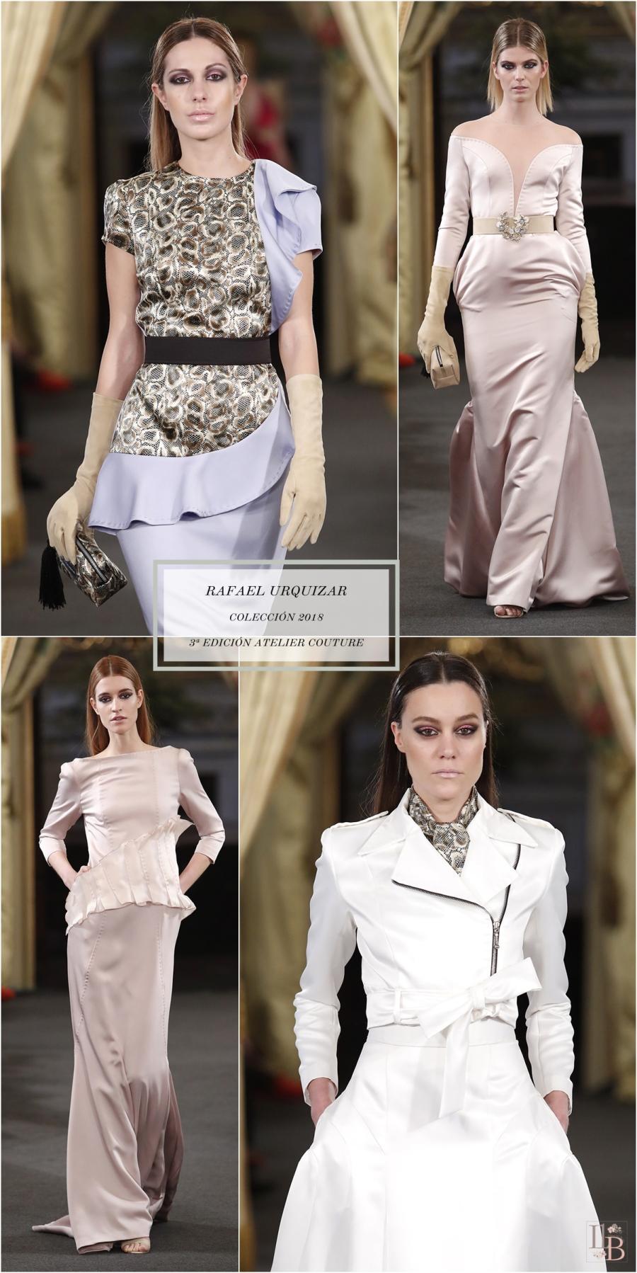 """Desfile Atelier Couture 2017- Rafael Urquizar : Colección """"Esencia"""". Post en Llega mi boda."""