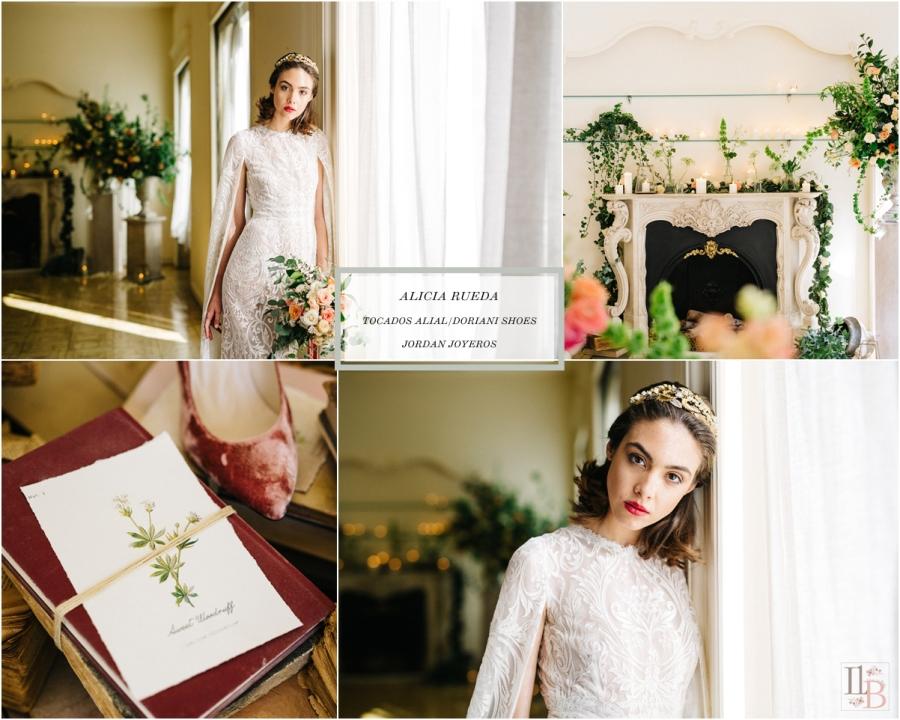 Elipsis: Colección novias de Alicia Rueda. Post en Llega mi boda