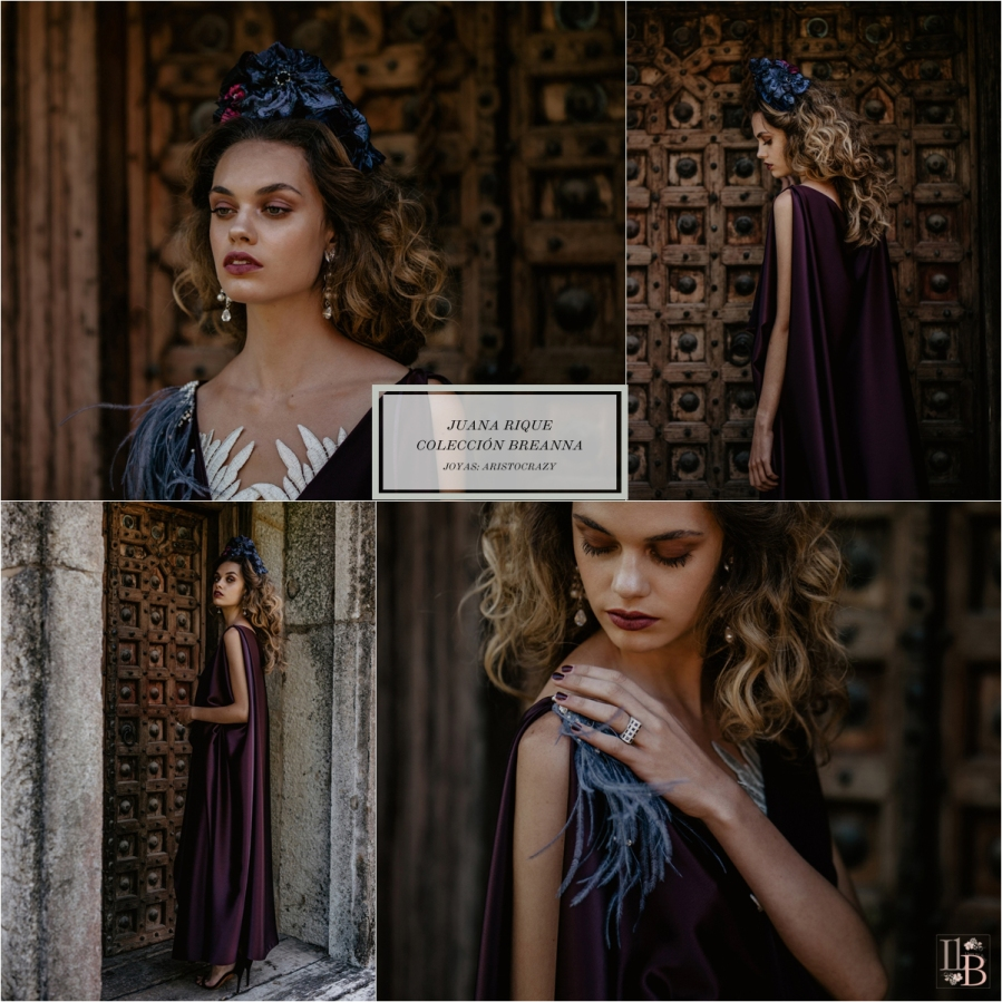 Breanna: Nueva colección de Juana Rique para las invitadas de otoño-invierno. Joyas de Aristocrazy