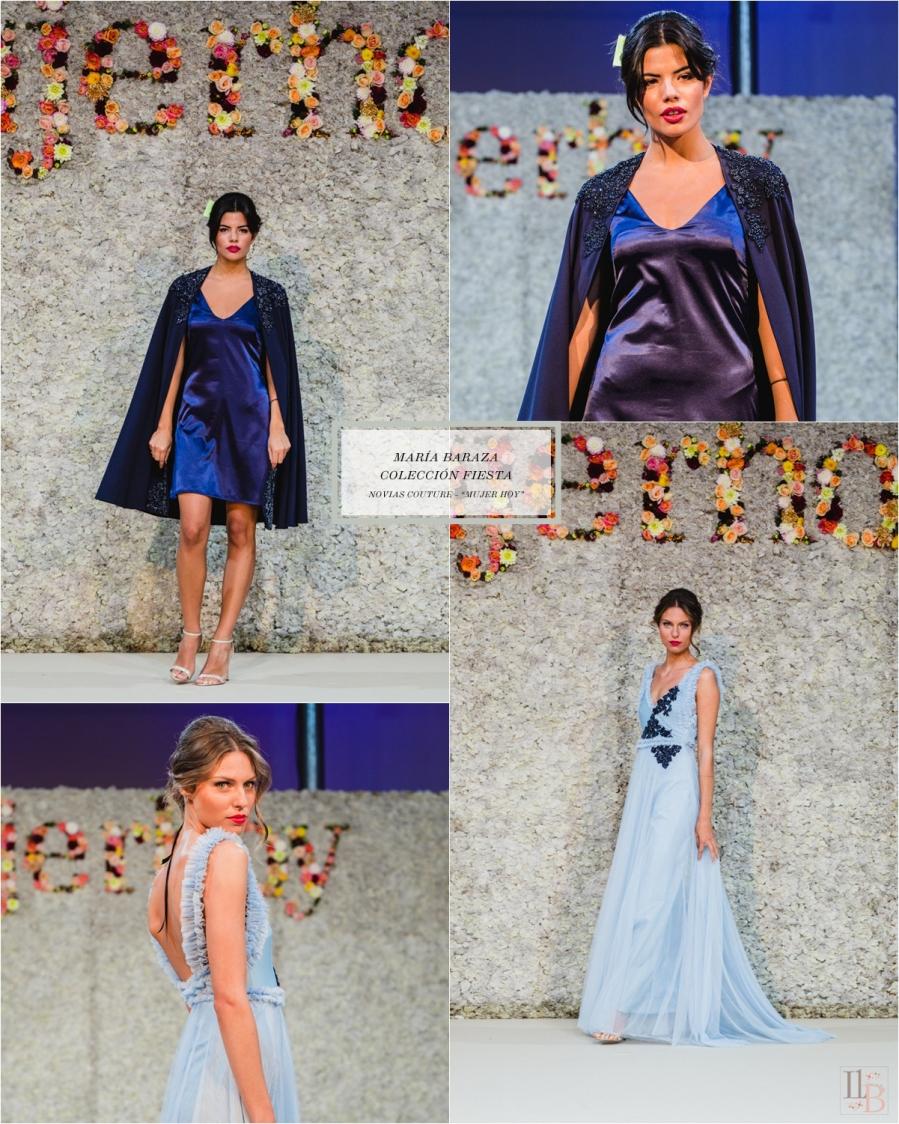 María Baraza: Nueva Colección 2018 para Novias y Fiesta. Desfile Novias Couture organizado por Mujer Hoy