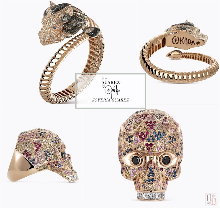 Nueva colección IAM SUAREZ BY OKUDA de Joyería Suarez